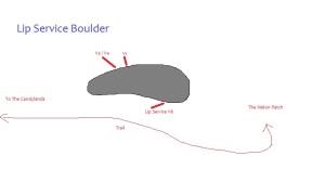 Lip Service Boulder